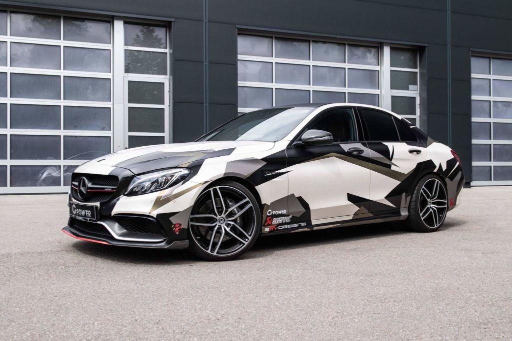 Mercedes C 63 S AMG G-Power