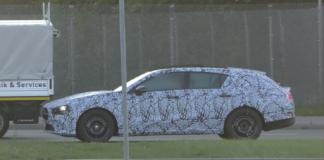 Mercedes CLA Shooting Brake 2019 video spia