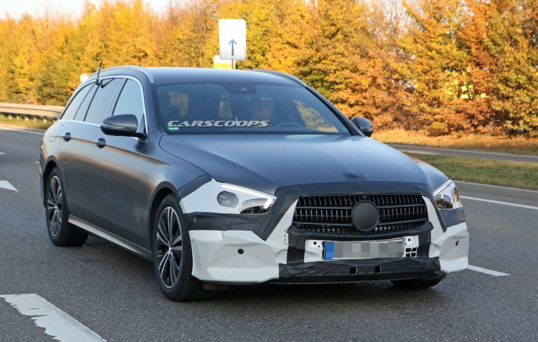 Mercedes Classe E spy