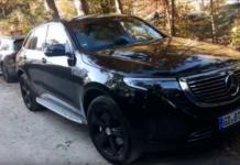 Mercedes EQC video spia