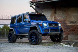 Mercedes G550 4×4² Instagram
