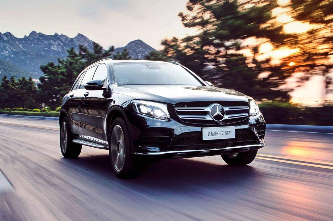 Mercedes GLC L Cina ufficiale