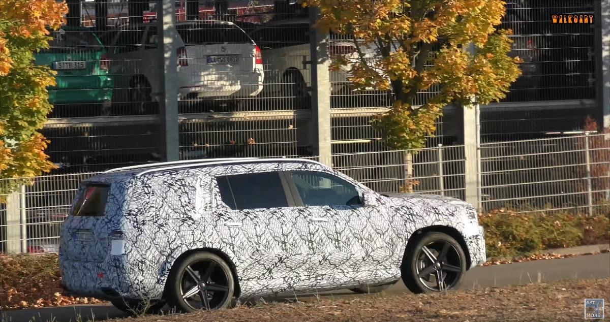 Mercedes GLS 63 AMG video spia