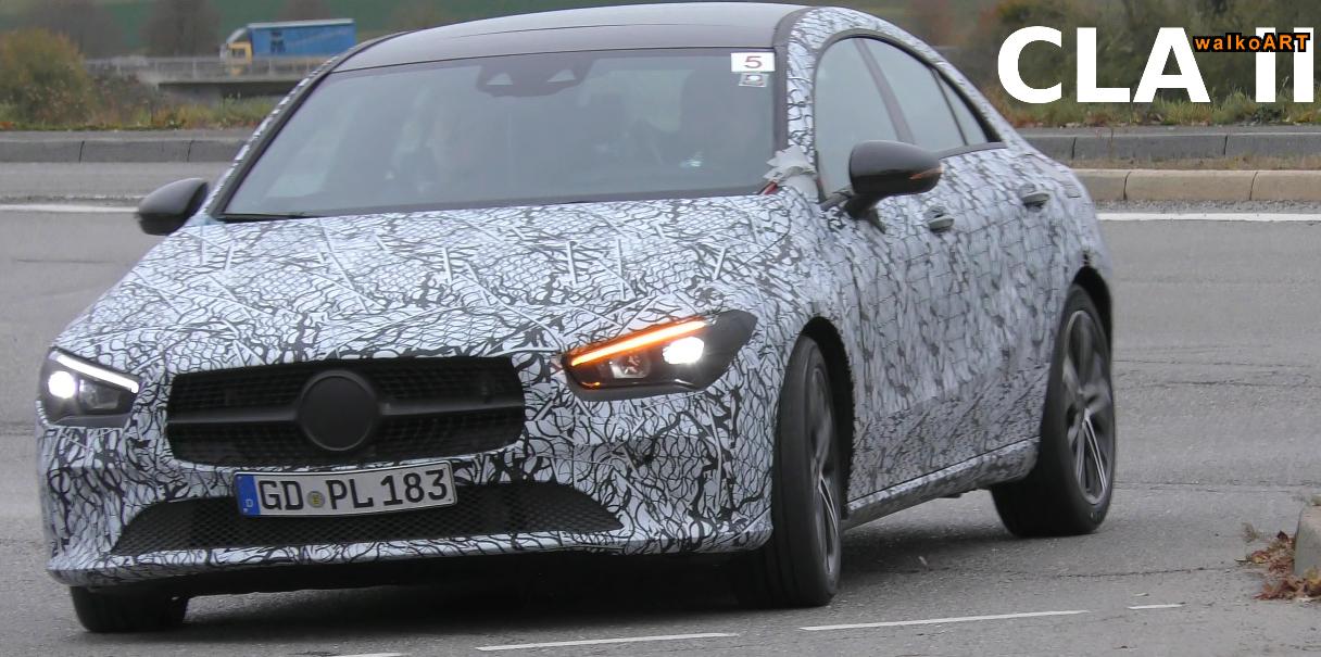 Nuove Mercedes CLA, GLC Coupé e GLS video spia