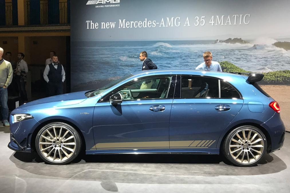 Mercedes A 35 AMG Regno Unito