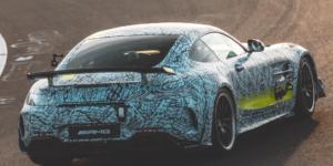 Mercedes AMG GT Black Series prototipo Nurburgring