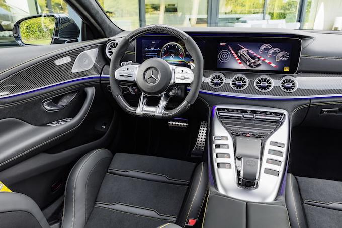 Mercedes-AMG GT Coupé4 debutto Italia