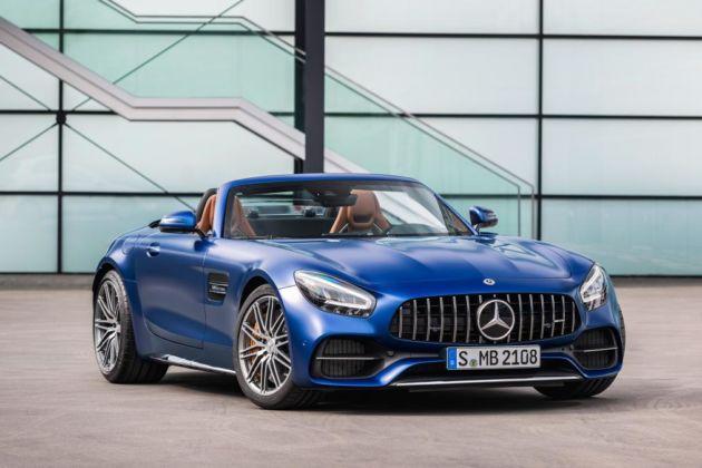 Mercedes-AMG GT restyling intera gamma