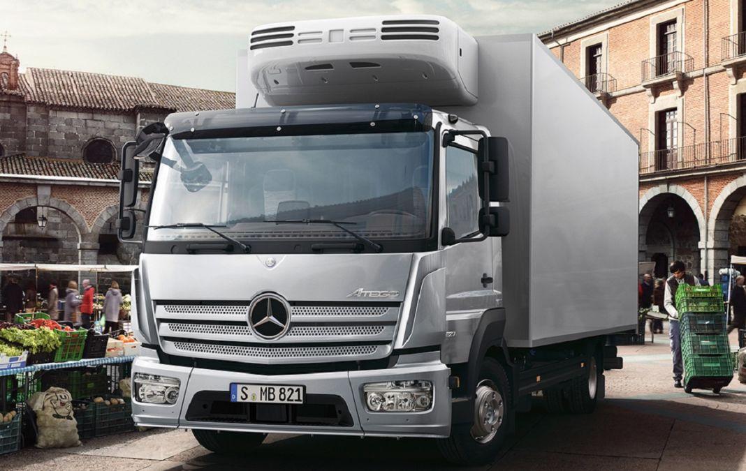 Mercedes Atego Abu Dhabi