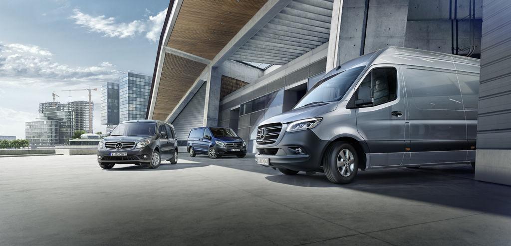 Mercedes-Benz Vans offre numerose soluzioni digitali per un trasporto efficiente