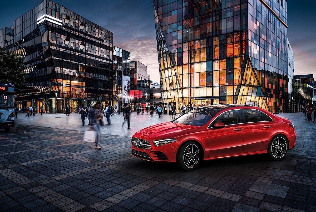 Mercedes Classe A L partita produzione Cina