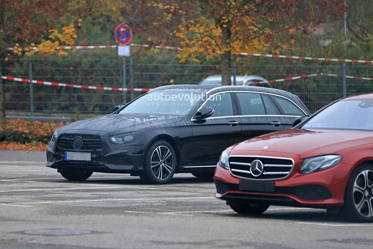 Mercedes Classe E 2020 ultime foto spia