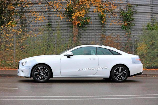 Mercedes Classe E Coupé 2020 foto spia