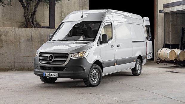 Mercedes Sprinter Sustainable Truck of the Year 2019