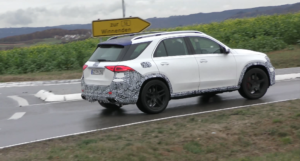 Nuovo Mercedes GLE 63 AMG video spia