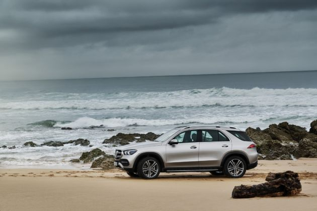 Nuovo Mercedes GLE E-Active Body Control