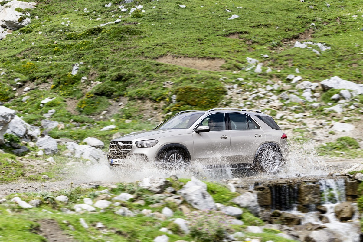 Nuovo Mercedes GLE E-Active Body Control