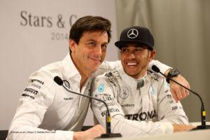 """Wolff:"""" gestire i messaggi radio di Lewis Hamilton non è affatto difficile"""""""