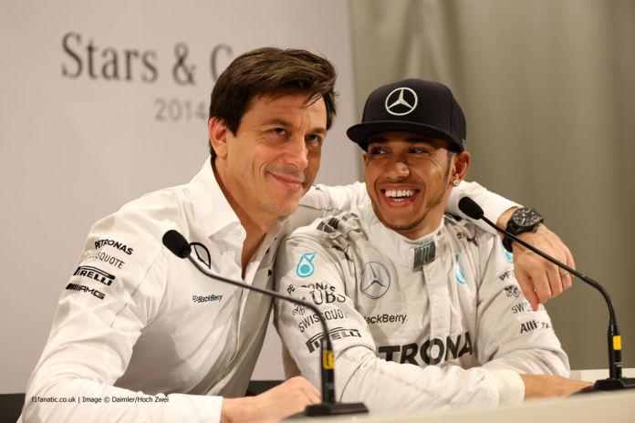 Wolff e Hamilton