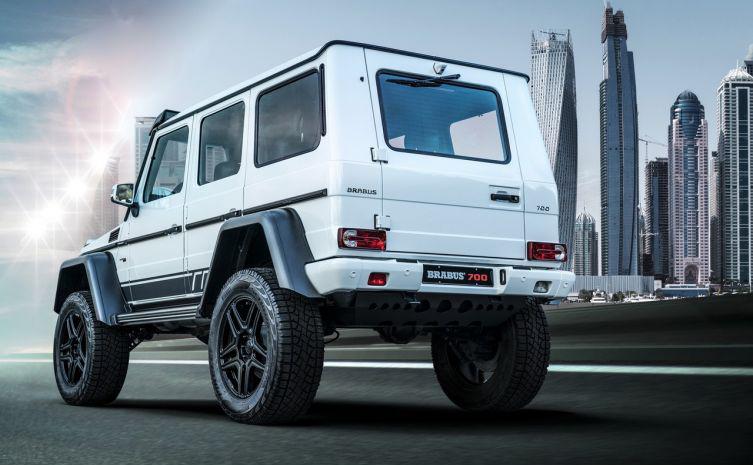 Brabus 700 4×4² Mercedes Classe G