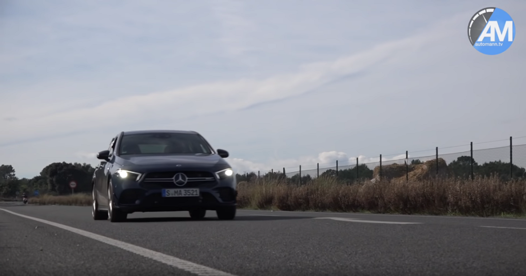 Mercedes A 35 AMG scatto 0 100 video