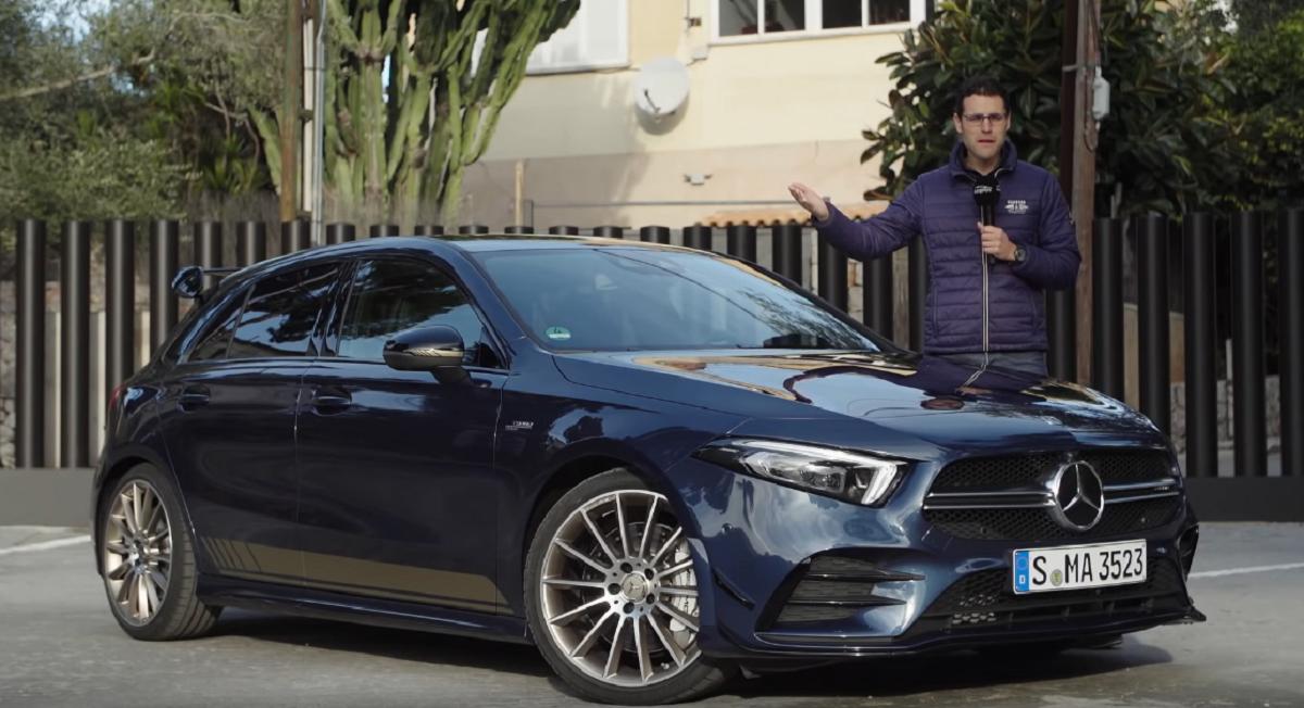 Mercedes A 35 AMG video recensione