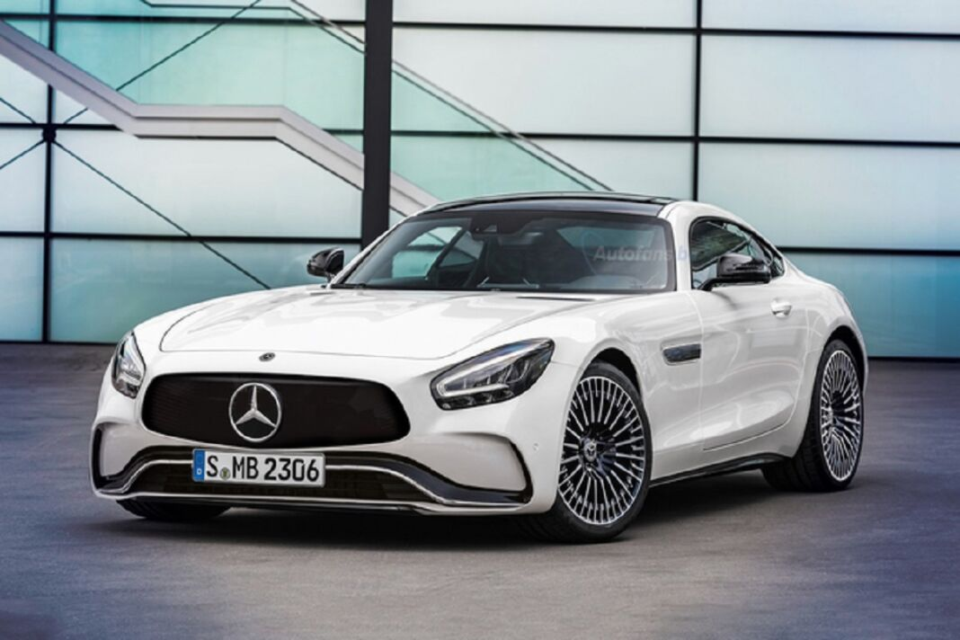 Mercedes-AMG EQ GT render
