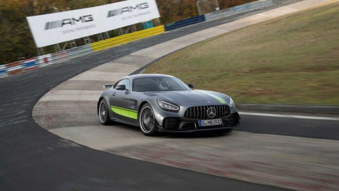 Mercedes-AMG GT R Pro Nurburgring video
