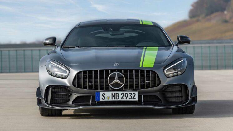 Mercedes-AMG GT R Pro Nurburgring video