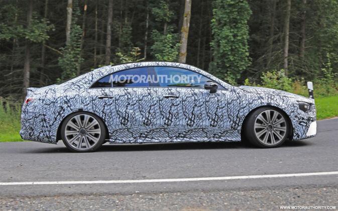 Mercedes CLA 45 AMG 2020 ultime foto spia