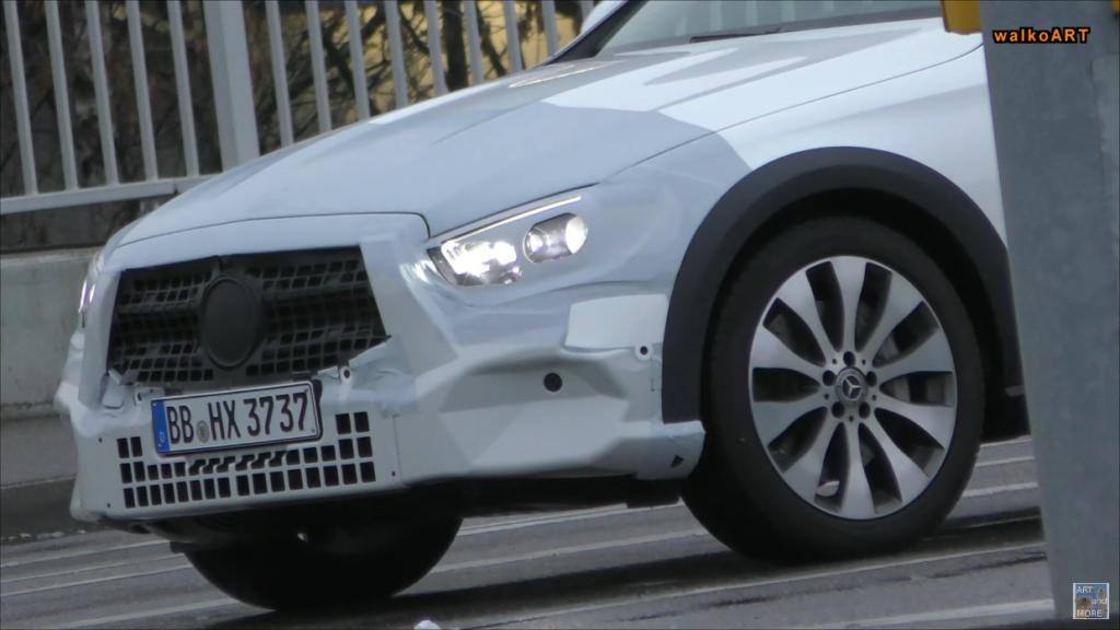 Mercedes Classe E All-Terrain 2020 video spia