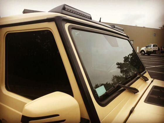 Mercedes Classe G Brabus deserto
