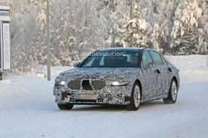 Mercedes Classe S 2020 test invernali foto spia
