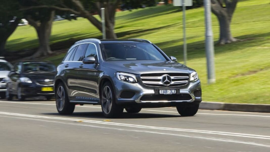Mercedes GLC e Classe C richiamo Australia