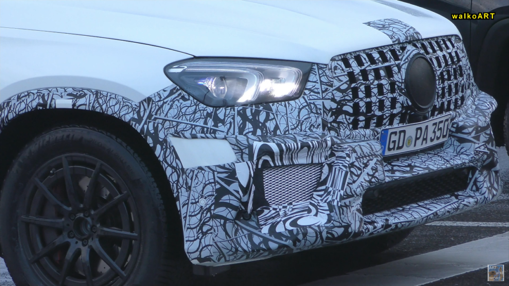 Mercedes GLE 63 AMG 2020 prototipo video spia