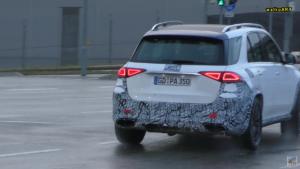 Mercedes GLE 63 AMG 2020 prototipo video spia