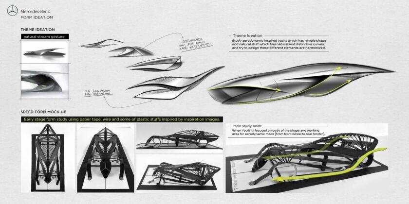 Mercedes Nostalgia concept
