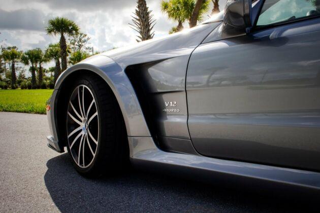 Mercedes SL 65 AMG Black Series RENNtech