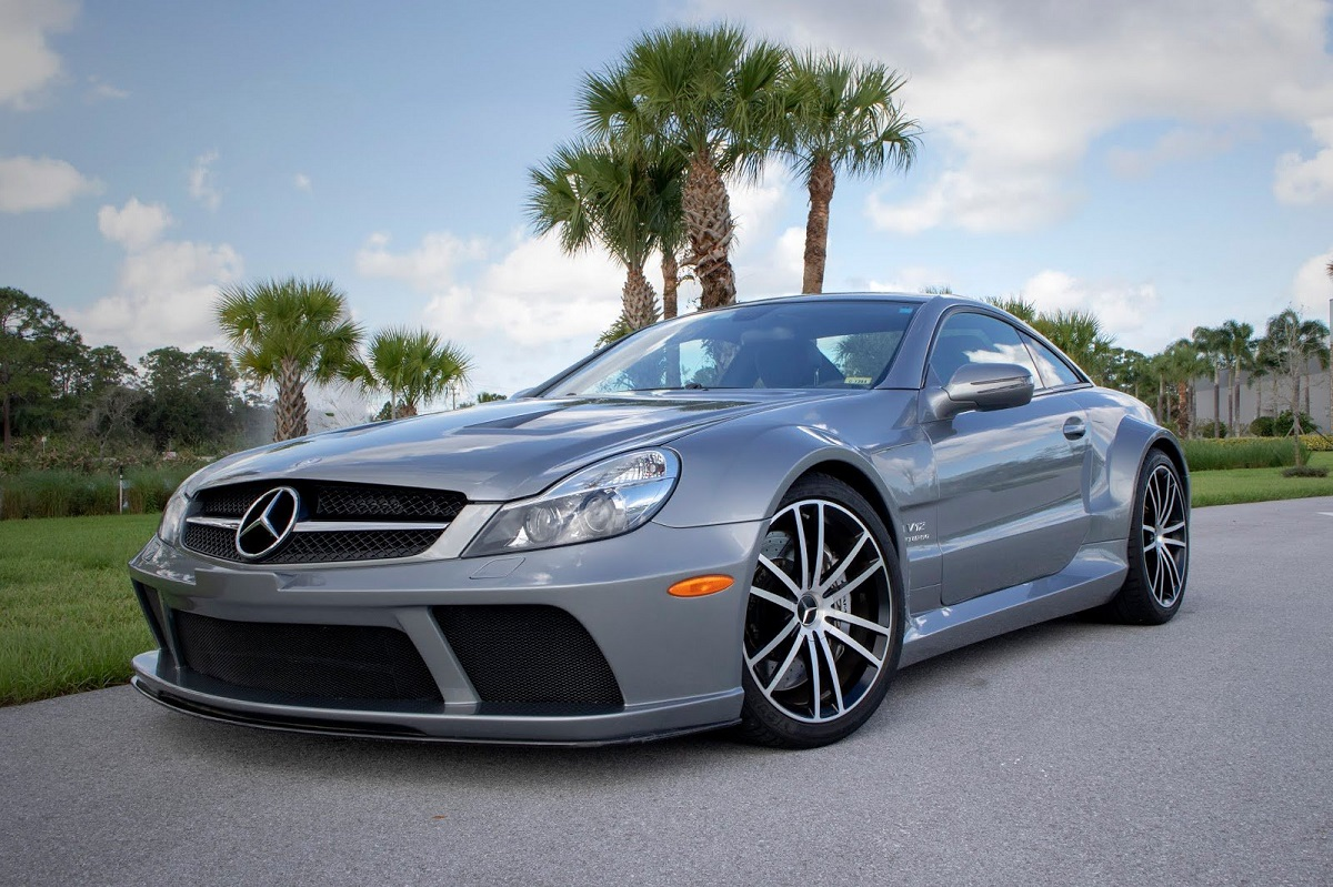 Mercedes SL 65 AMG Black Series RENNtech