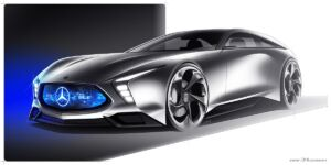 Mercedes SLE Shooting Brake concept render