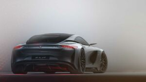 Mercedes SLR Vision Concept render