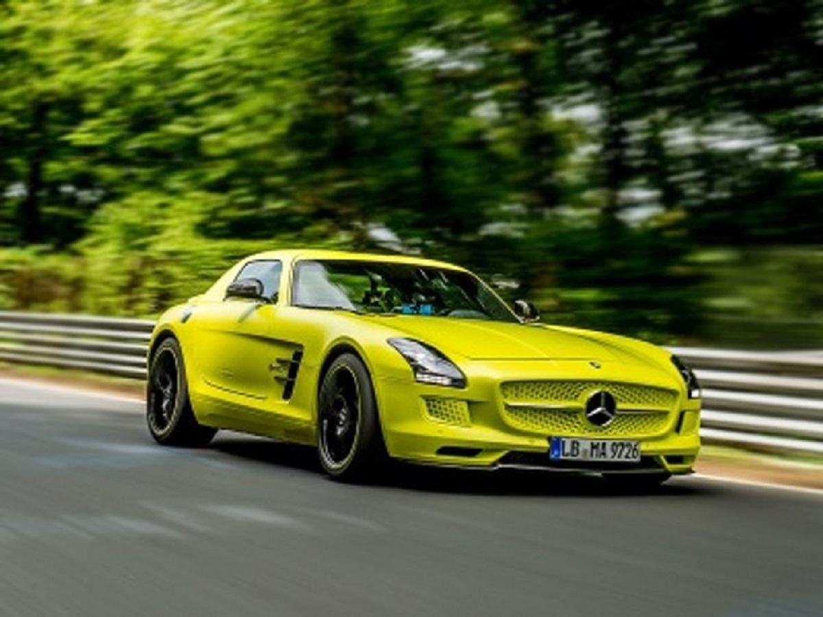 Mercedes SLS AMG Electric Drive successore
