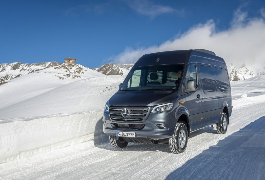 Mercedes Sprinter 4×4 2019 trazione integrale