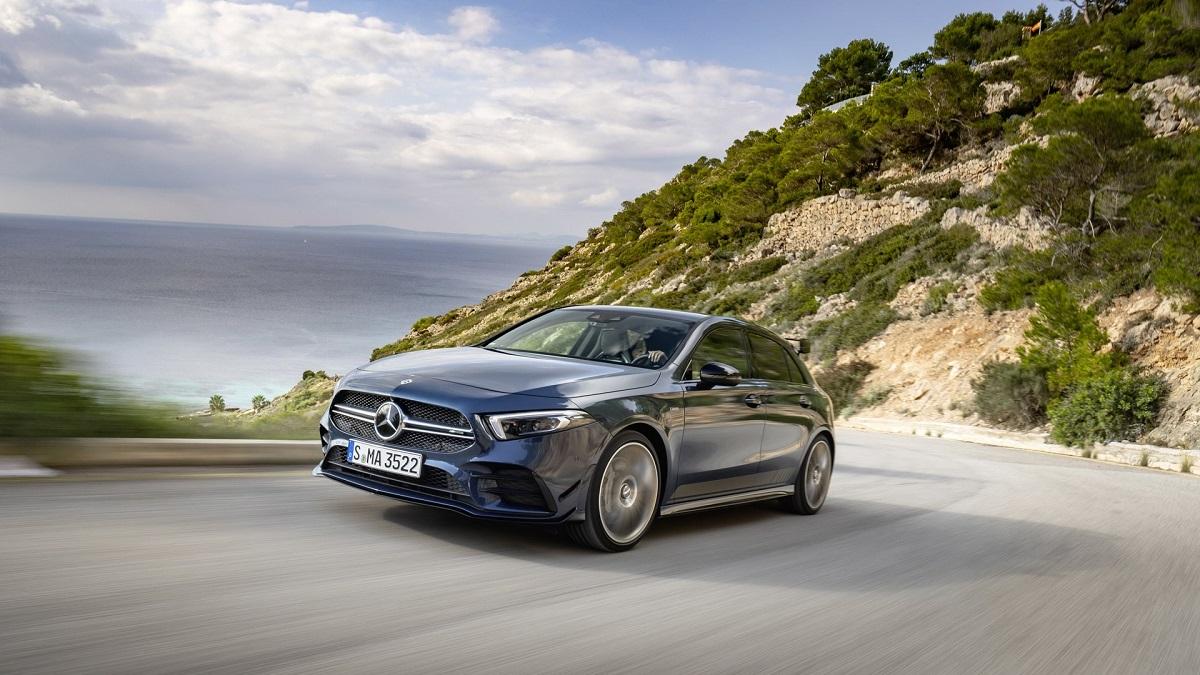 Nuova Mercedes A 35 AMG tutti dettagli
