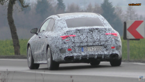 Nuova Mercedes CLA 35 AMG video spia