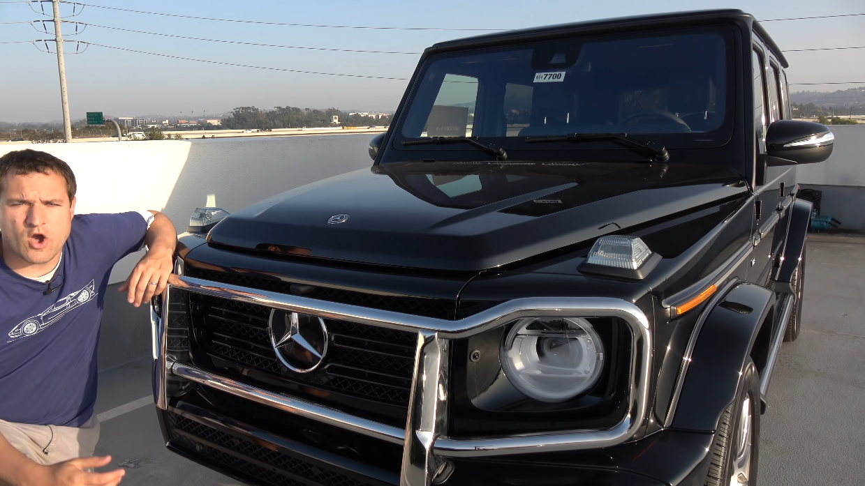 Nuovo Mercedes Classe G Doug DeMuro video
