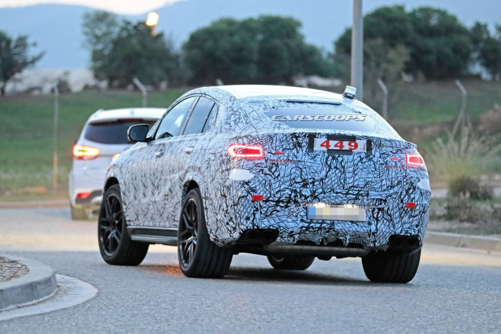 Nuovo Mercedes GLE 53 AMG Coupé foto spia