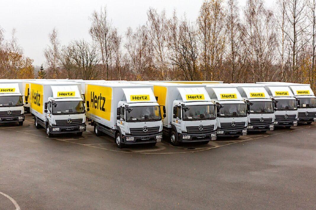 Hertz punta Mercedes camion pesanti