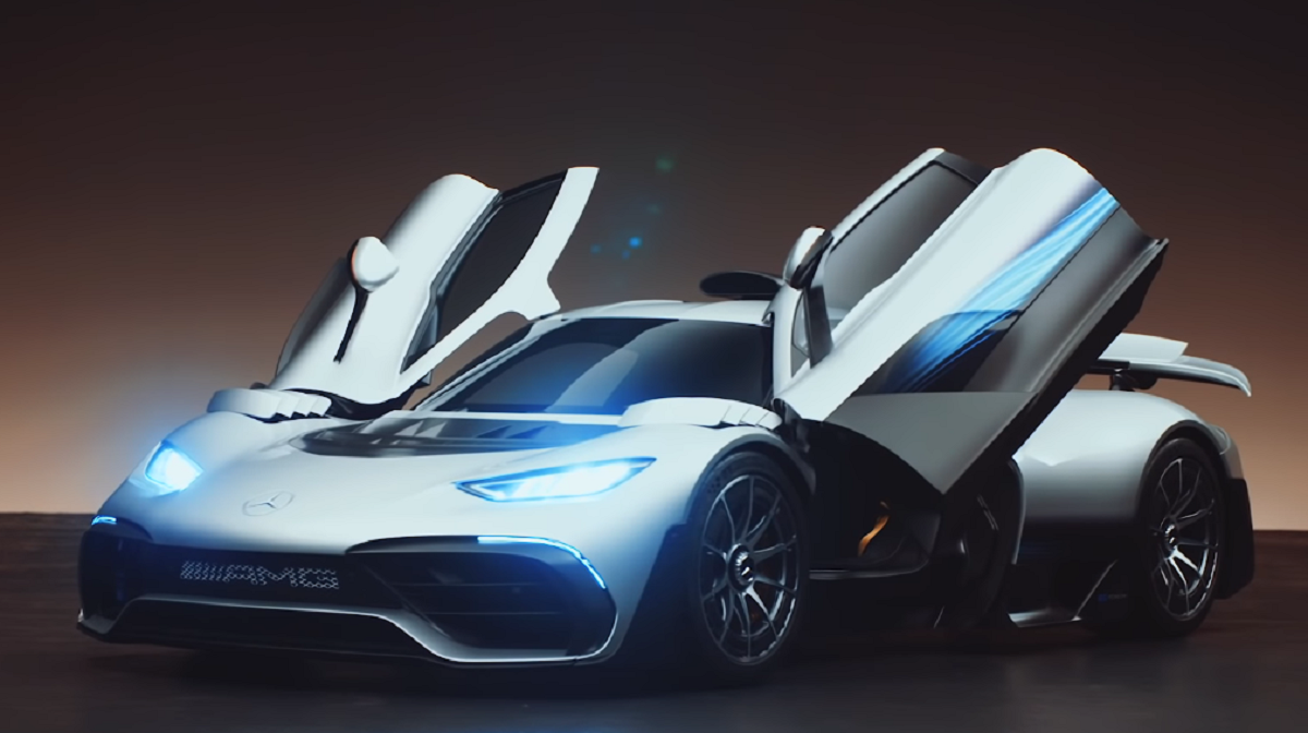 Mercedes-AMG One Jack Rix Top Gear