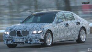 Mercedes Classe S 2020 nuovo prototipo
